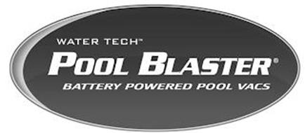 WATER TECH POOL BLASTER BATTERY POWERED POOL VACS