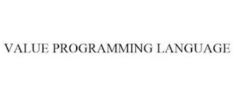 VALUE PROGRAMMING LANGUAGE