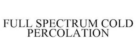 FULL SPECTRUM COLD PERCOLATION