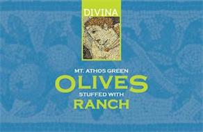 DIVINA MT. ATHOS GREEN OLIVES STUFFED WITH RANCH