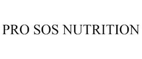PRO SOS NUTRITION