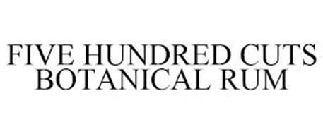 FIVE HUNDRED CUTS BOTANICAL RUM