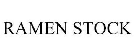 RAMEN STOCK