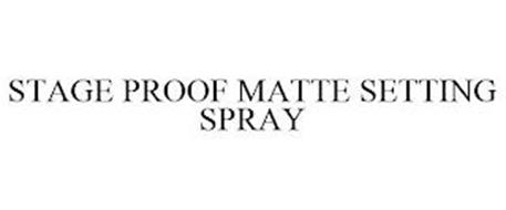 STAGE PROOF MATTE SETTING SPRAY