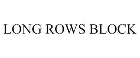 LONG ROWS BLOCK