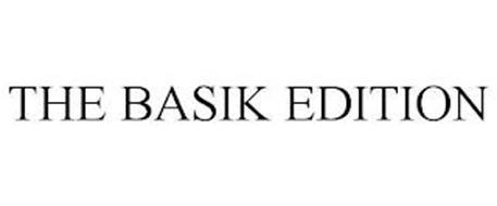 THE BASIK EDITION