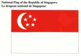 NATIONAL FLAG OF THE REPUBLIC OF SINGAPORE