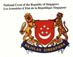 STATE EMBLEM OF THE REPUBLIC OF SINGAPORE