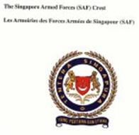 THE SINGAPORE ARMED FORCE (SAF) CREST