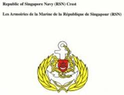 REPUBLIC OF SINGAPORE NAVY (RSN) CREST