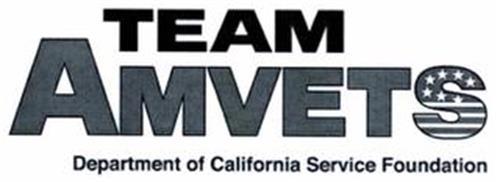 TEAM AMVETS DEPARTMENT OF CALIFORNIA SERVICE FOUNDATION