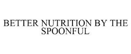 BETTER NUTRITION BY THE SPOONFUL