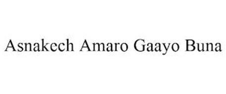 ASNAKECH AMARO GAAYO BUNA