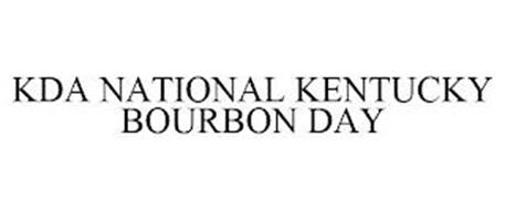 KDA NATIONAL KENTUCKY BOURBON DAY