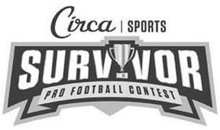 CIRCA SPORTS SURVIVOR PRO FOOTBALL CONTEST