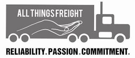 ALL THINGS FREIGHT RELIABILITY. PASSION. COMMITMENT