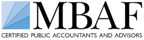 MBAF CERTIFIED PUBLIC ACCOUNTANTS AND ADVISORS