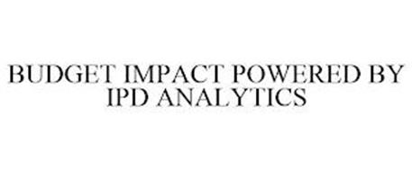 BUDGET IMPACT POWERED BY IPD ANALYTICS