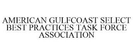 AMERICAN GULFCOAST SELECT BEST PRACTICES TASK FORCE ASSOCIATION
