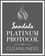 SANDALS PLATINUM PROTOCOL OF CLEANLINESS