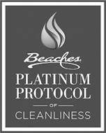 BEACHES PLATINUM PROTOCOL OF CLEANLINESS