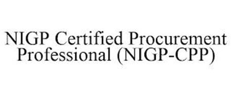 NIGP CERTIFIED PROCUREMENT PROFESSIONAL (NIGP-CPP)