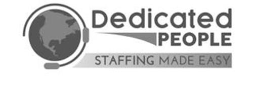 DEDICATED PEOPLE STAFFING MADE EASY