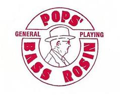 POPS' BASS ROSIN GENERAL PLAYING