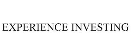 EXPERIENCE INVESTING