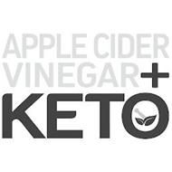 APPLE CIDER VINEGAR + KETO