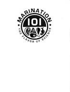· MARINATION ·101 THE FLAVOR OF SCIENCE
