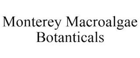 MONTEREY MACROALGAE BOTANICALS
