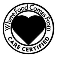 WHERE FOOD COMES FROM, CARE, CERTIFIED