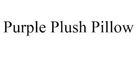 PURPLE PLUSH PILLOW