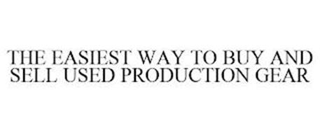THE EASIEST WAY TO BUY AND SELL USED PRODUCTION GEAR