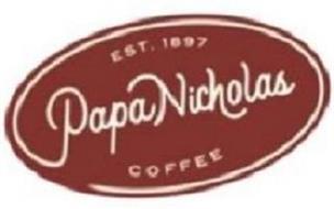 PAPANICHOLAS COFFEE EST. 1897
