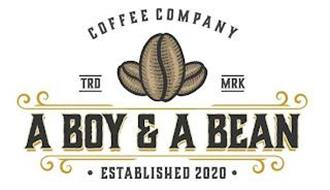 A BOY & A BEAN COFFEE COMPANY · ESTABLISHED 2020 · TRD MRK