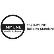 IMMUNE HEALTHY BY DESIGN THE IMMUNE BUILDING STANDARD