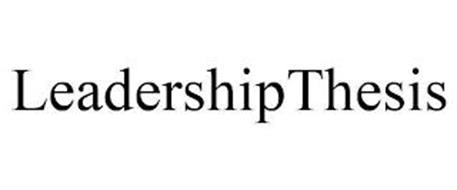 LEADERSHIPTHESIS