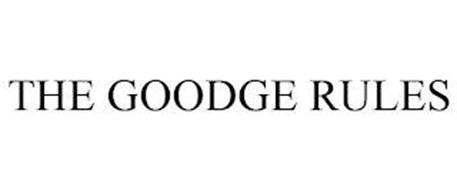 THE GOODGE RULES