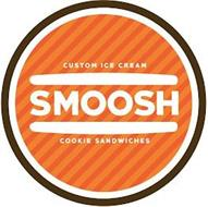 CUSTOM ICE CREAM SMOOSH COOKIE SANDWICHES