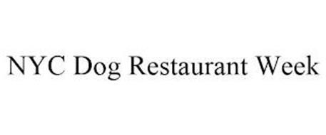 NYC DOG RESTAURANT WEEK