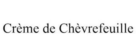 CRÈME DE CHÈVREFEUILLE