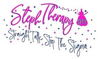 STEPHTHERAPY 911 STRAIGHT TALK: STOP THE STIGMA