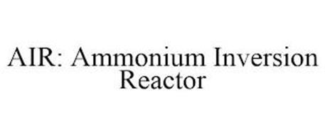 AIR: AMMONIUM INVERSION REACTOR
