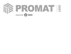 PROMAT 2021 POWERED BY MHI