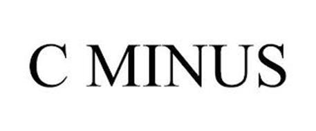 C MINUS