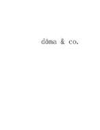 DANA & CO.