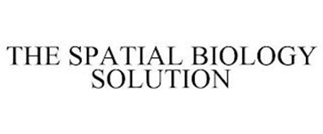 THE SPATIAL BIOLOGY SOLUTION