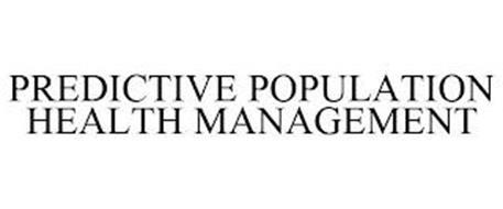 PREDICTIVE POPULATION HEALTH MANAGEMENT